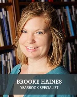Head shot of School Annual Yearbook Representative Brooke Haines
