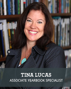 Headshot of School Annual Yearbook Sales Associate Tina Lucas