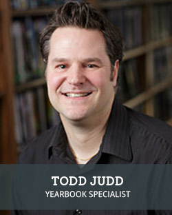 Head shot of School Annual Yearbook Representative Todd Judd