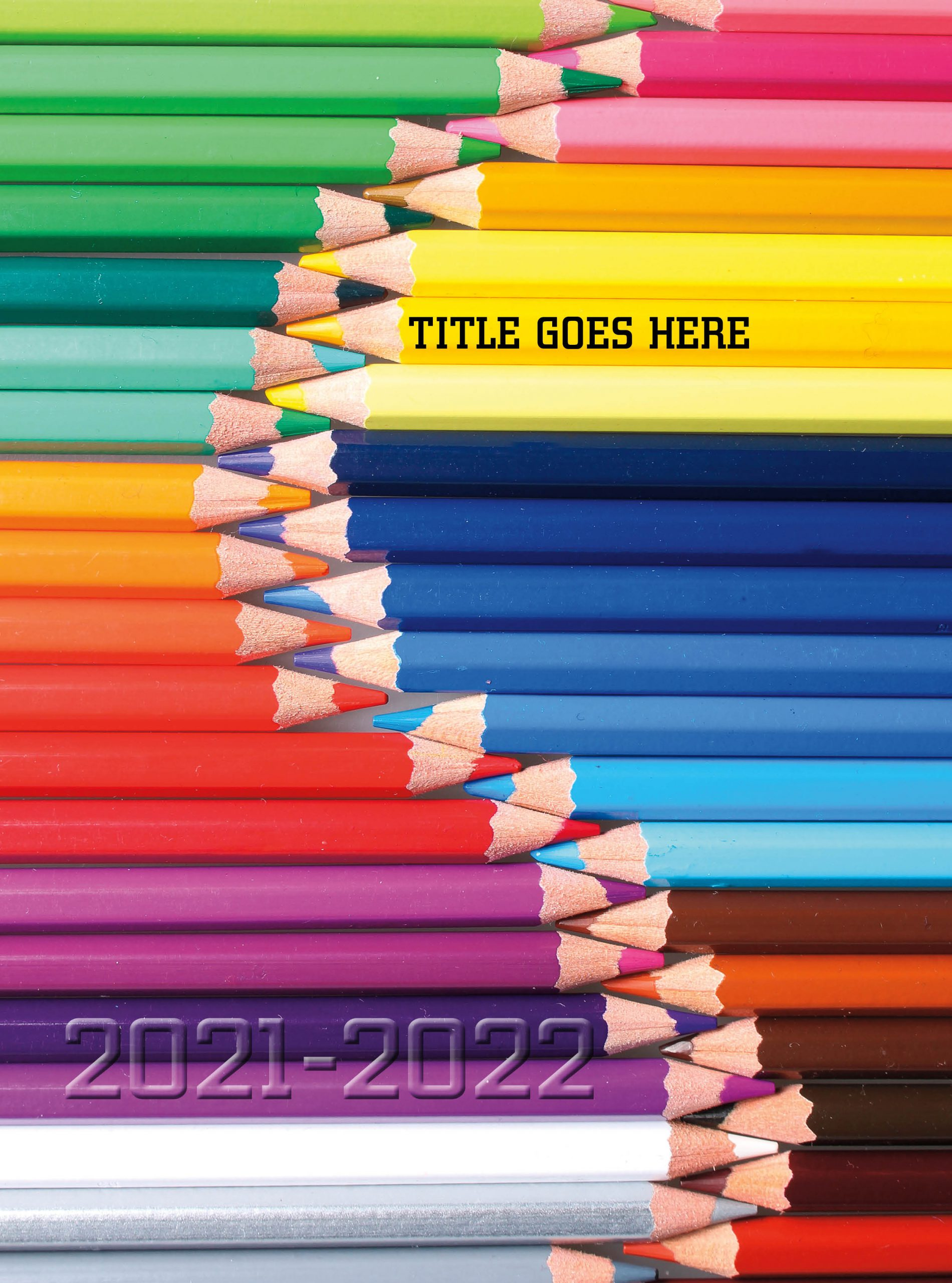 Colorful Pop Art, Yearbook Cover 2005